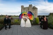 Mary and Dee's beautiful wedding in Trim Castle